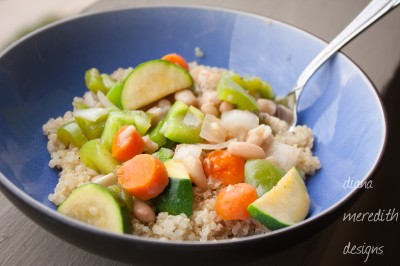 Veggie Stir-Fry with Quinoa